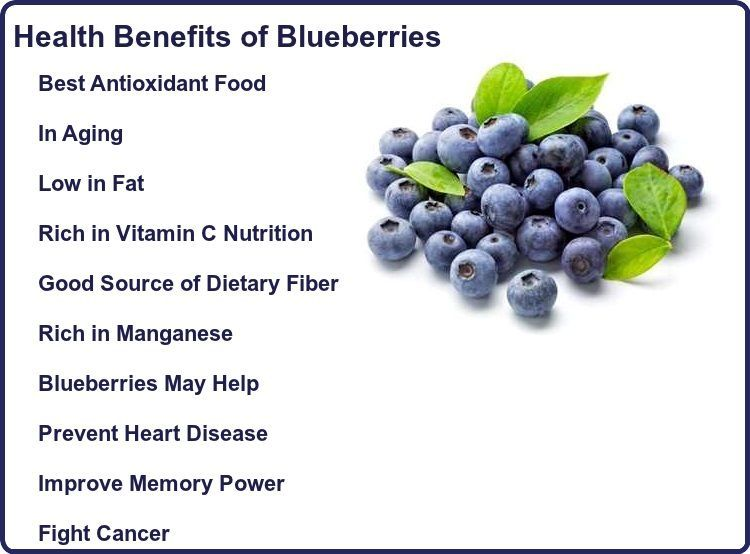 Blueberries Benefits | Anti oxidant foods, Blueberry, Heart ...