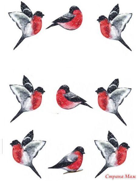 Птички нарисованные своими руками 36