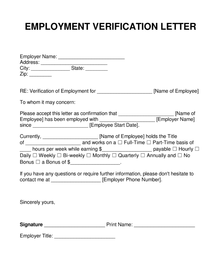 Get employment verification done with this professional