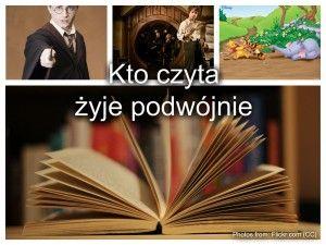 Witam Oto Mój Plakat Zachęcający Do Czytania Czytanie