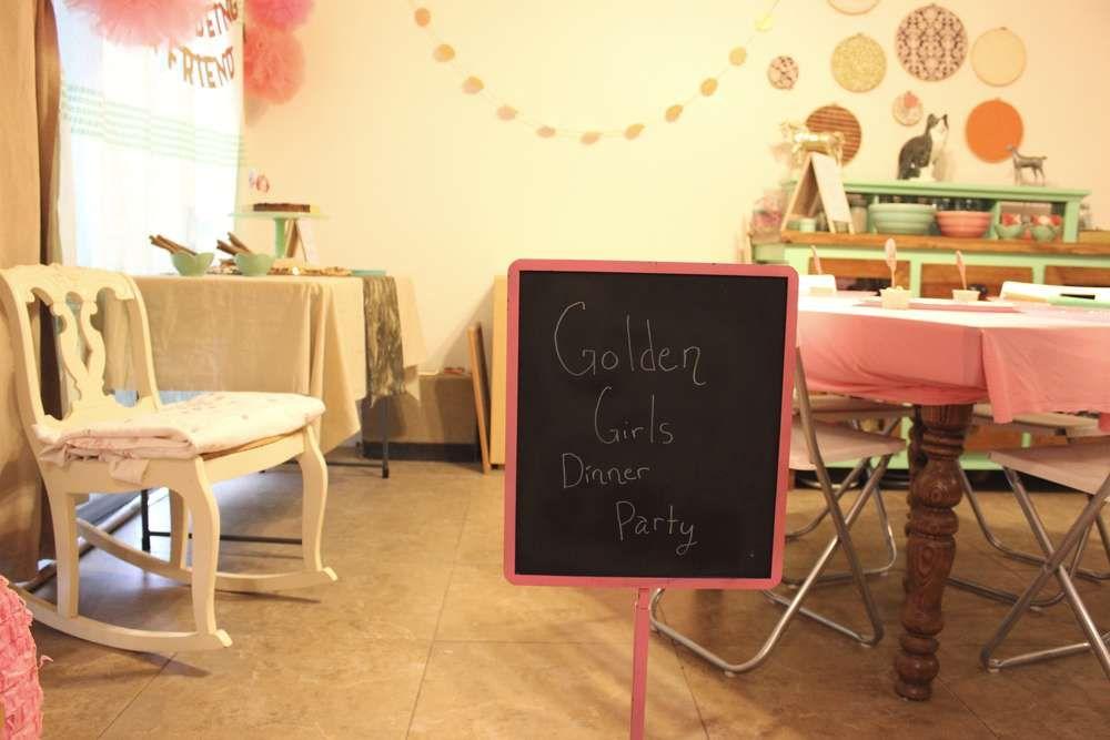 Girls Dinner Party Ideas Part - 44: The Golden Girls Dinner Party Party Ideas