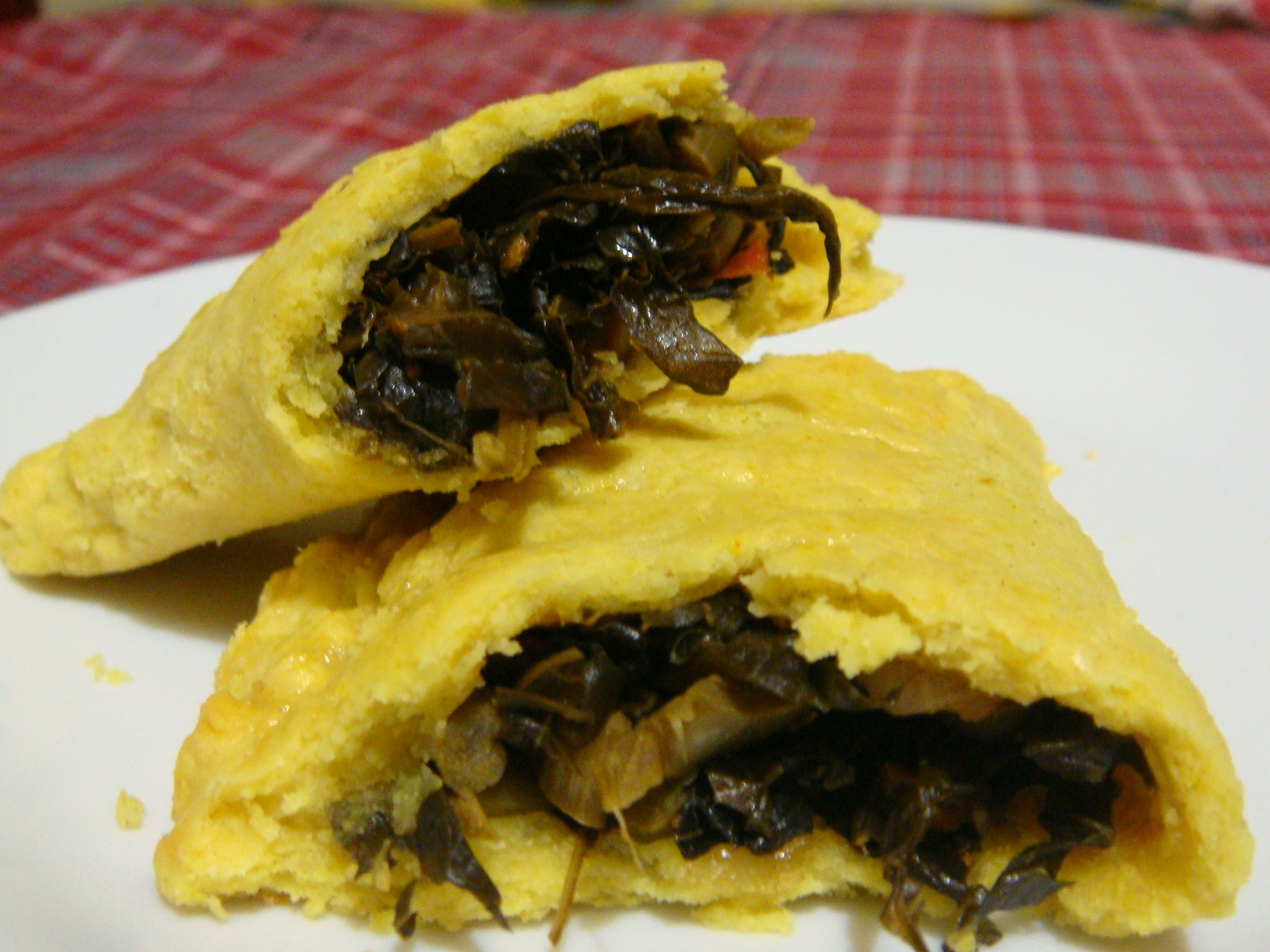 Meatless Mondays just got exiting with this Jamaican callaloo patty ...