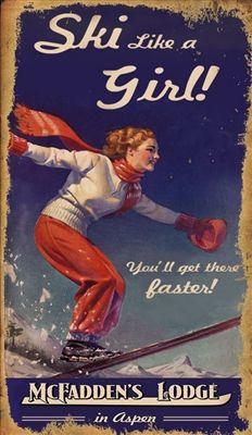 Pin By Heidi On Big White Vintage Ski Posters Skiing Quotes Ski Posters