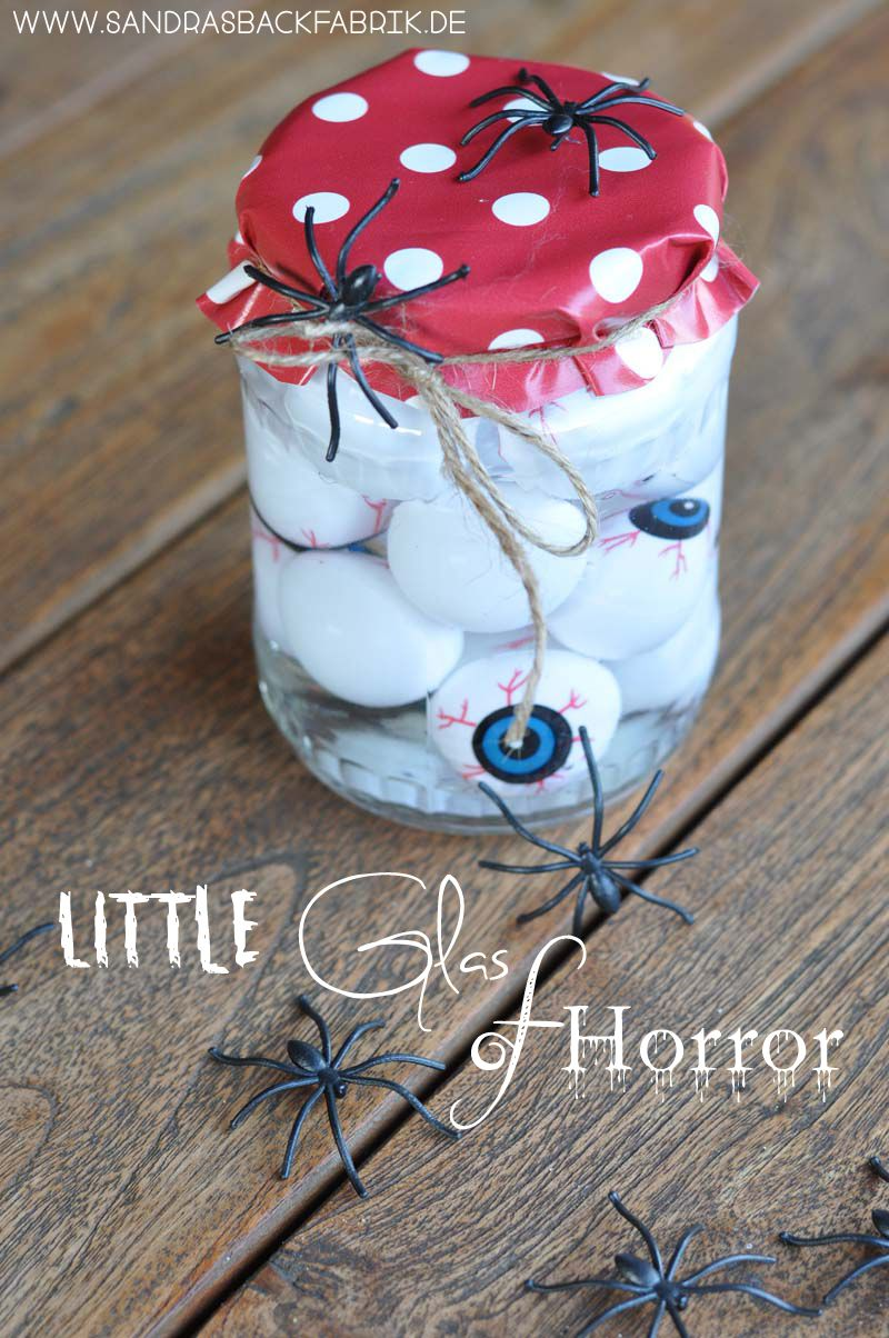 Little Glas of Horror / Halloween Dekoration / http ...