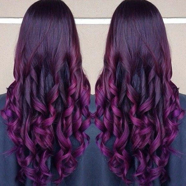 Purple Highlights In Blonde Hair Google Search Hair Pinterest