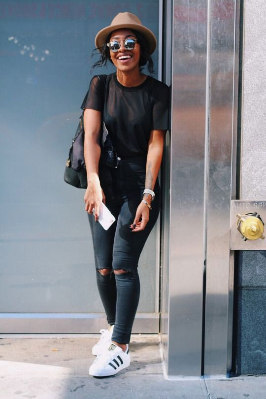 Women's Adidas Superstar Outfit #NarrativeStyleJournal Blog