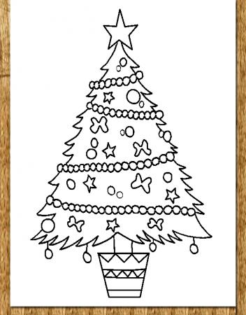 ausmalbilder weihnachtsbaum weihnachten weihnachtsbaum ausmalen malvorlagen painting