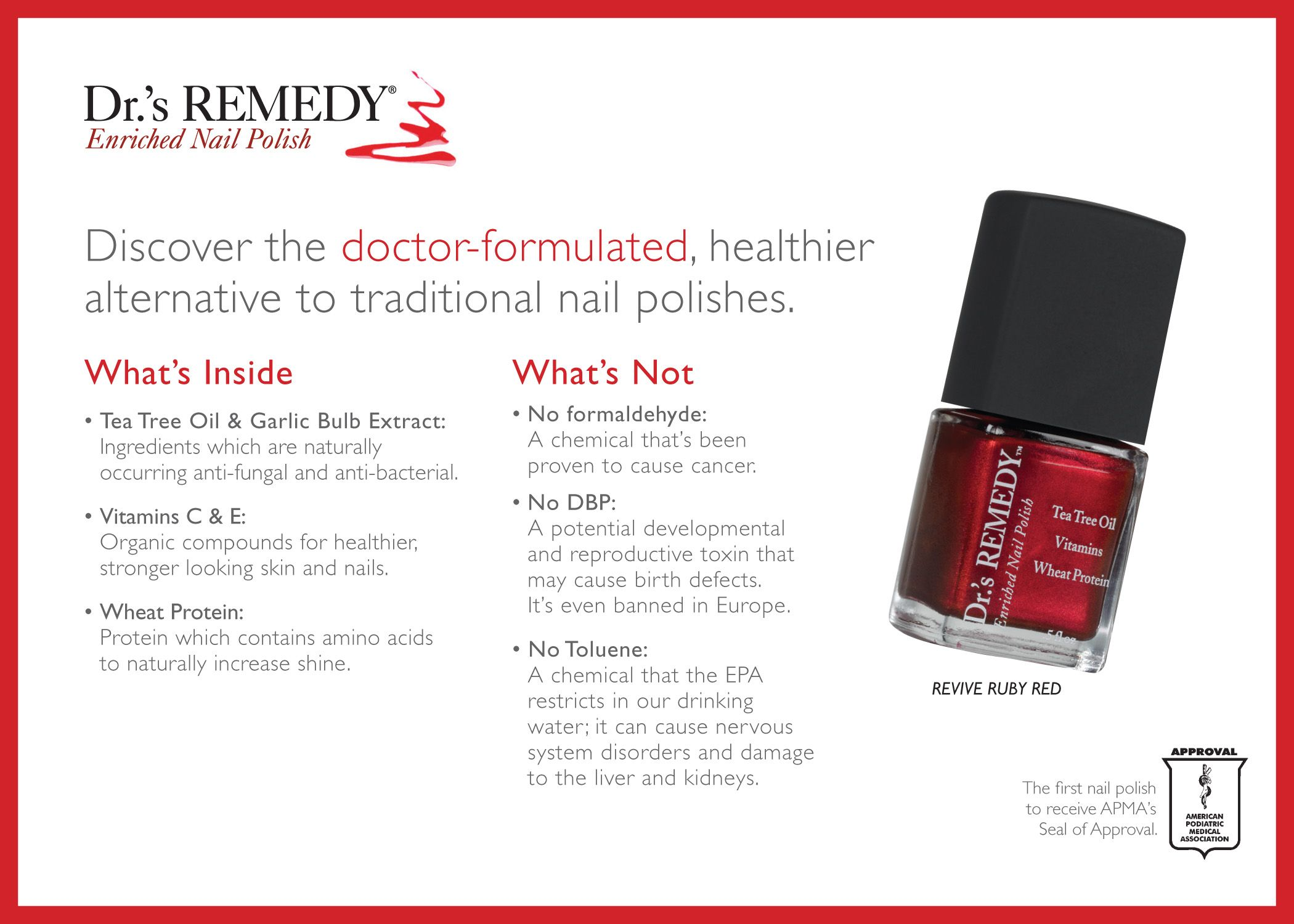 Dr.\'s Remedy Nail Polish! This is polish that is actually health for ...