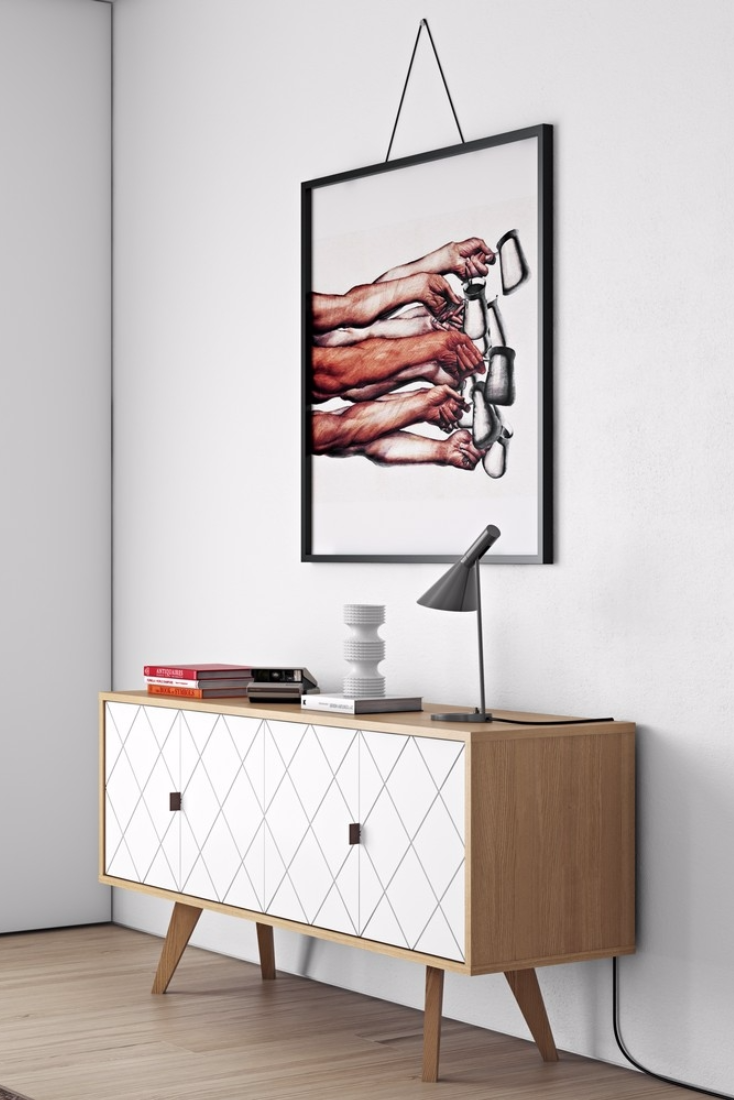 Flaches Sideboard Temahome Scandinavian Design Characterizes Furniture From