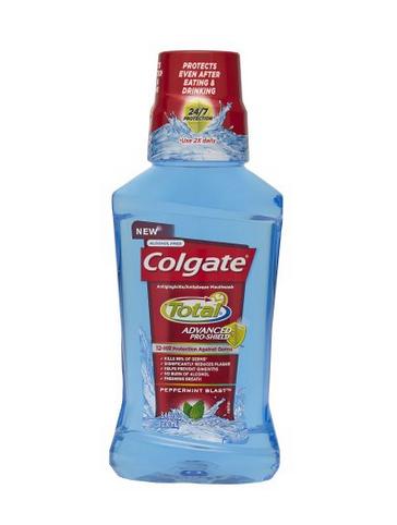 COLGATE TOTAL ADVANCED PROSHIELD MOUTHWASH 8.4oz Colgate