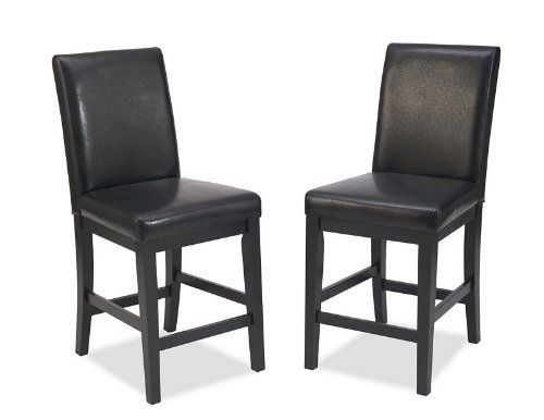 Home Styles 5033 89 Nantucket Bar Stool Distressed Black Finish 24