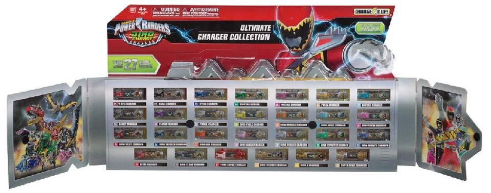 Power Rangers Dino Charge Dino Chargers Vip Set Power