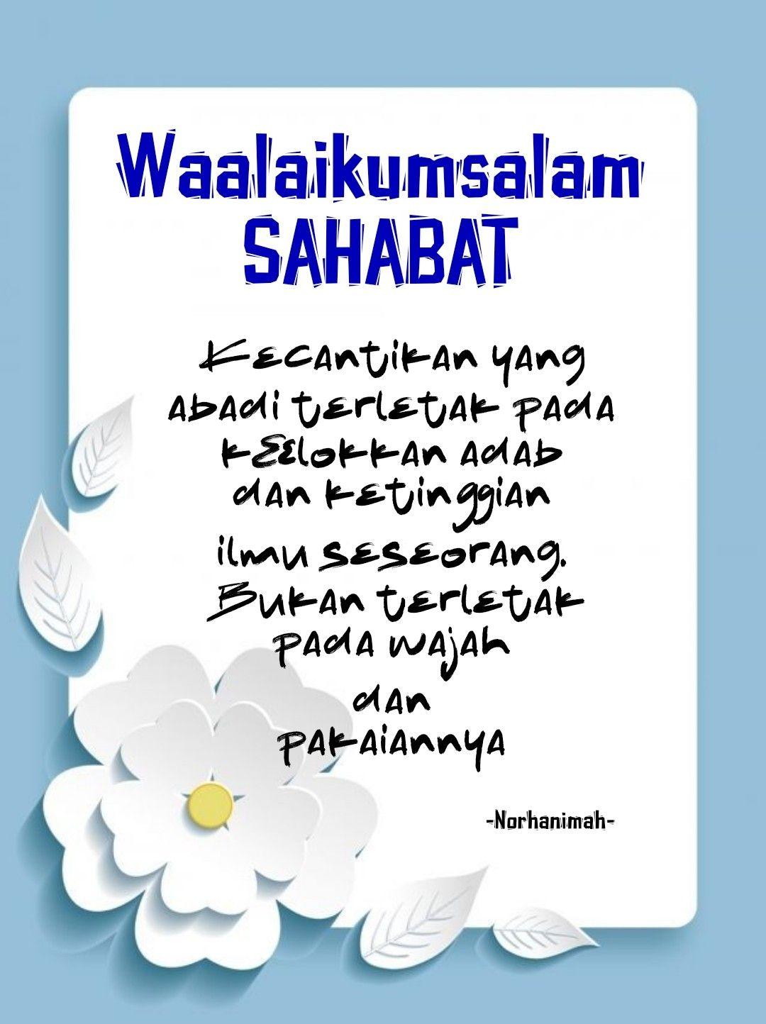 Tulisan Waalaikumsalam Warahmatullahi Wabarakatuh : tulisan, waalaikumsalam, warahmatullahi, wabarakatuh, Tulisan, Waalaikumsalam