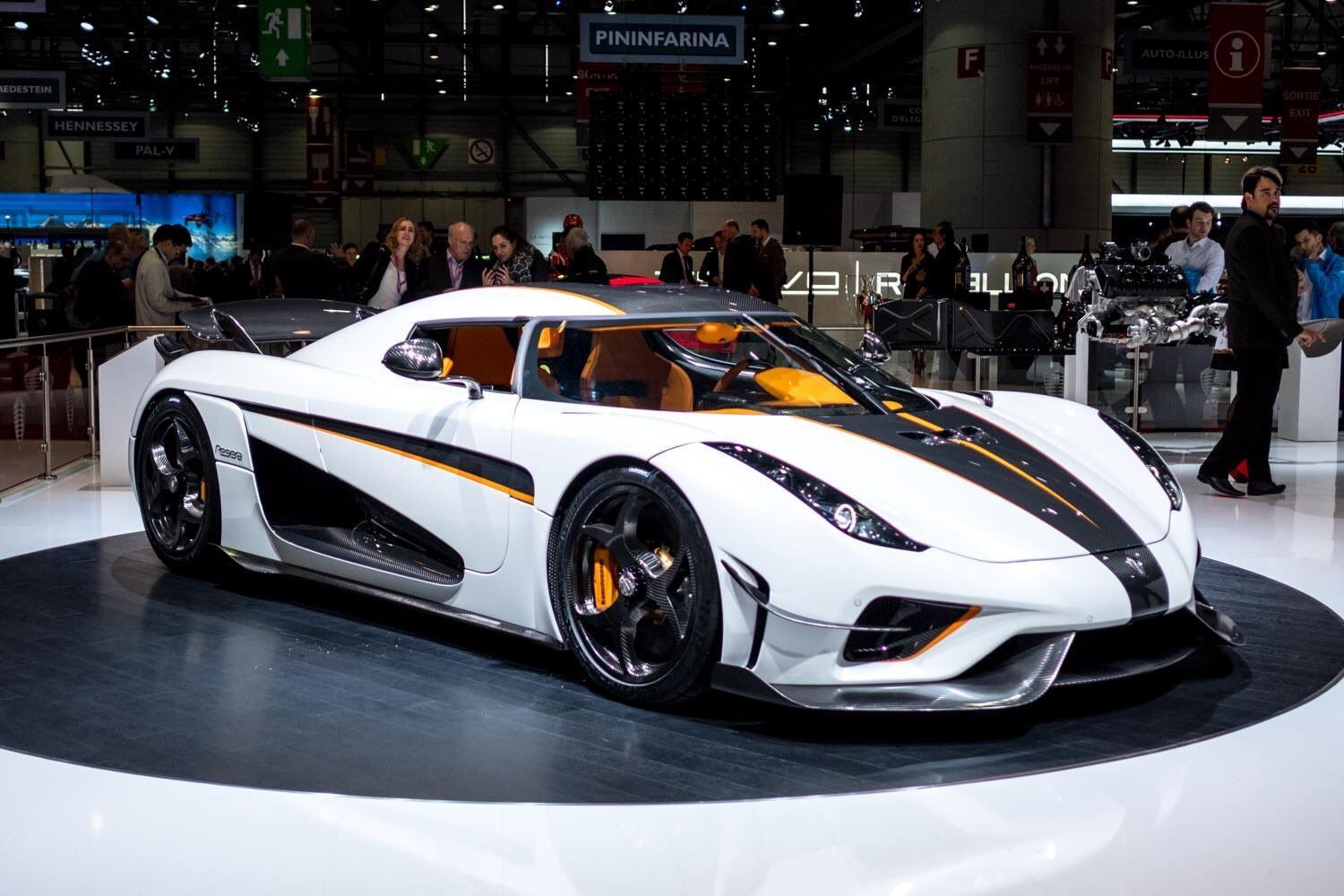 Good Koenigsegg Regera   Ghost Aerodynamic Package In Crystal White Lacquer    Geneva 2018