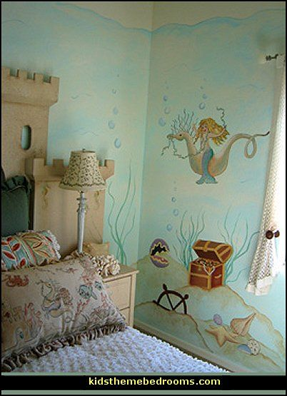 Amazing Mermaid Theme Bedroom Decorating Ideas And Mermaid Theme Decor
