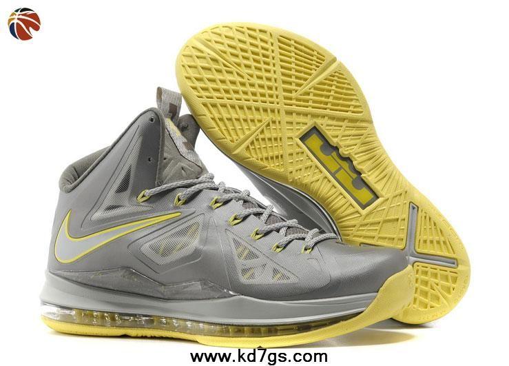 Cheap Nike Lebron 10 - Yellow Diamond #541100-007