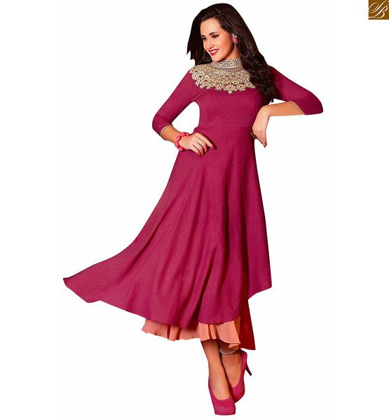 DESIGNER KURTIS WITH DIFFERENT CUTS STYLE , HEAVY FLORAL