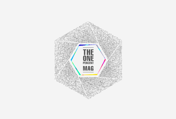 The One Percent Mag visual branding. on Behance