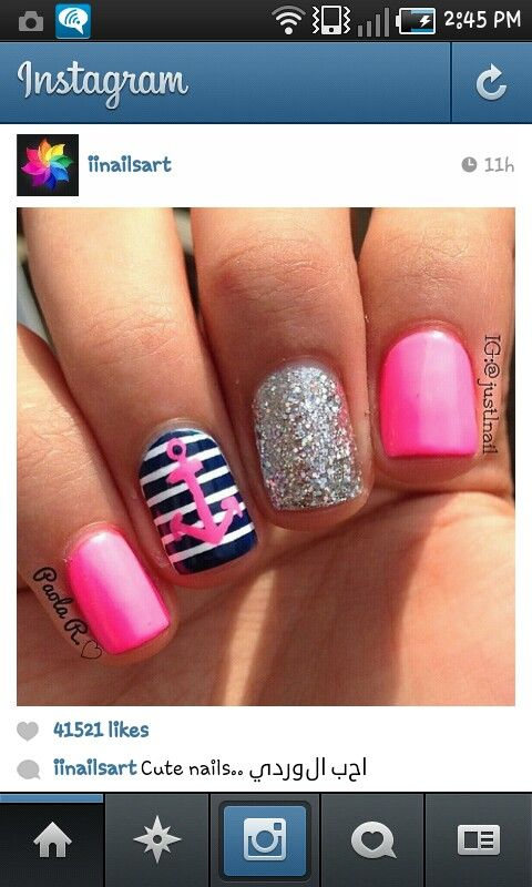 Cute!! Love the pink and blue!!