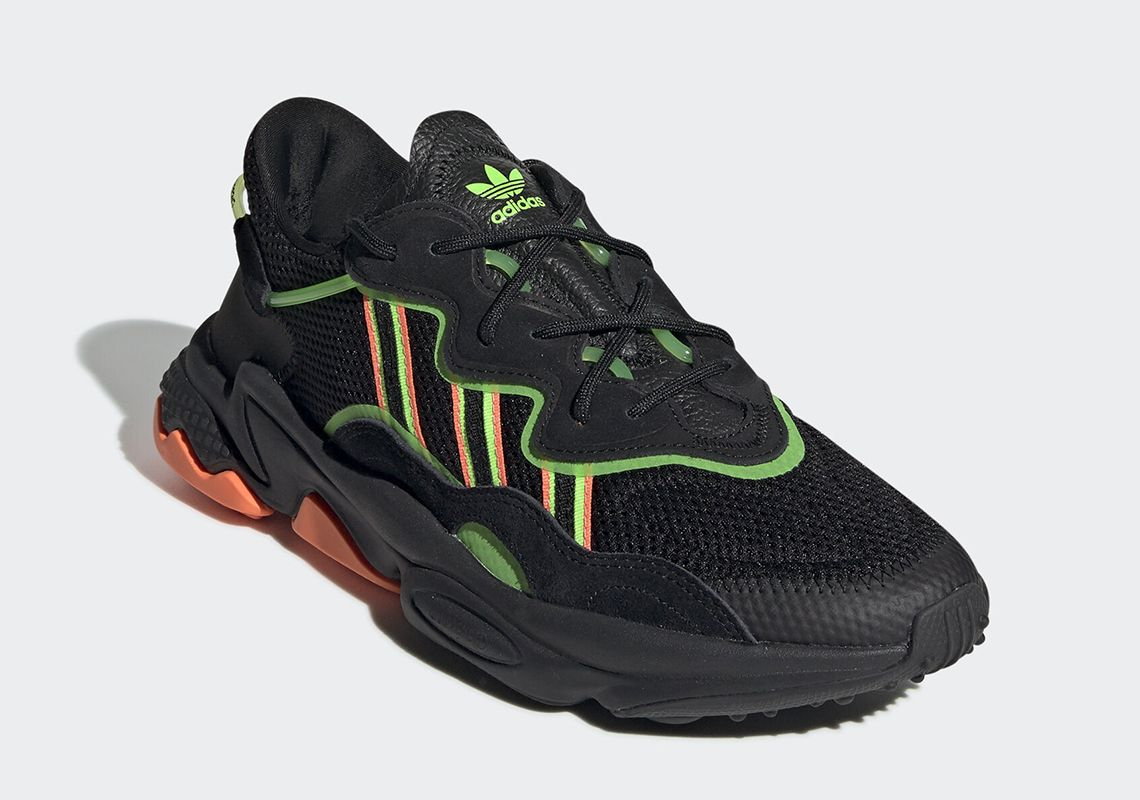 The adidas Ozweego Gets Bold Orange And Green Accents ...