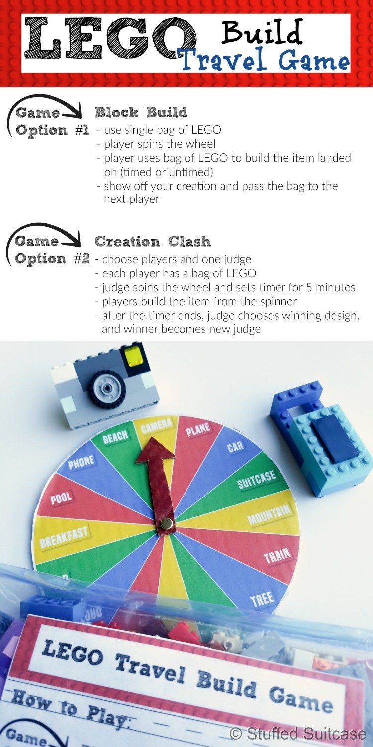 Lego Build Game Perfect For Family Travel Legos Pinterest Block Diagram Games Looking Some New How About This Great Ideas That Encourages Imaginative Play And Is Easy To Pack Two Ways Simple