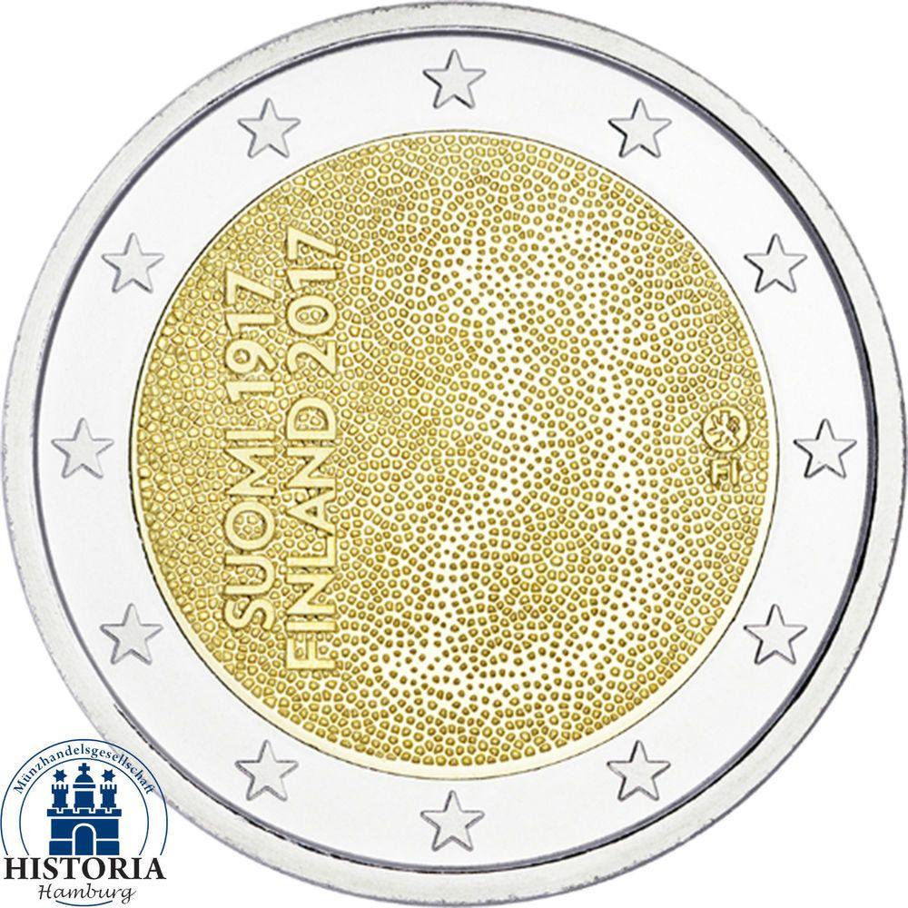 Details Zu Finnland 2 Euro Münze 100 Jahre Unabhängigkeit 2017