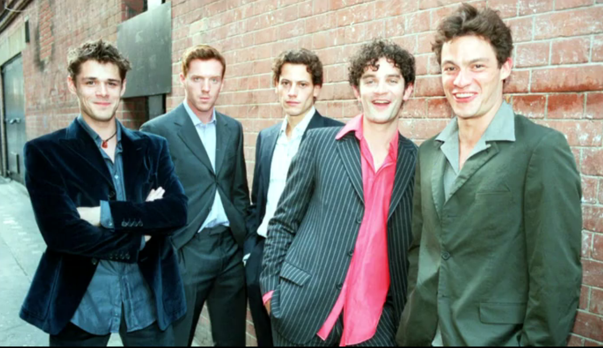 That Damian West Of The Great Series Homeland And Dominic West Of Another Great Series The Wire Went To School Together Dominic West Damian Lewis James Frain