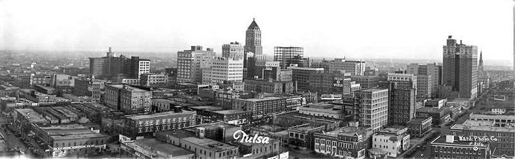 Downtown tulsa circa 1930s tulsa time tulsa san