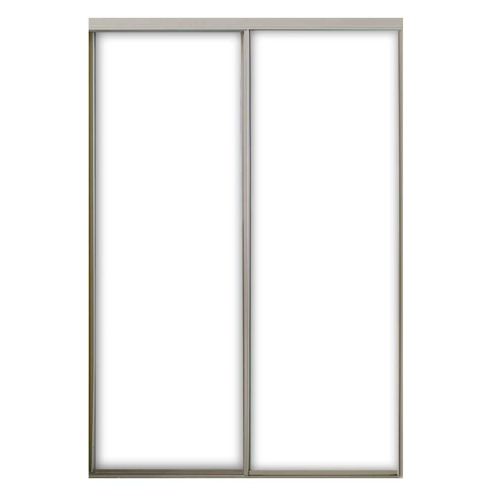Null 59 In X 96 In Aspen Steel Interior Sliding Door Sliding Doors Interior Steel Frame Doors