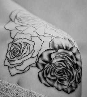 shoulder tattoo for fashion girls    #tattoo #design #girls www.loveitsomuch.com