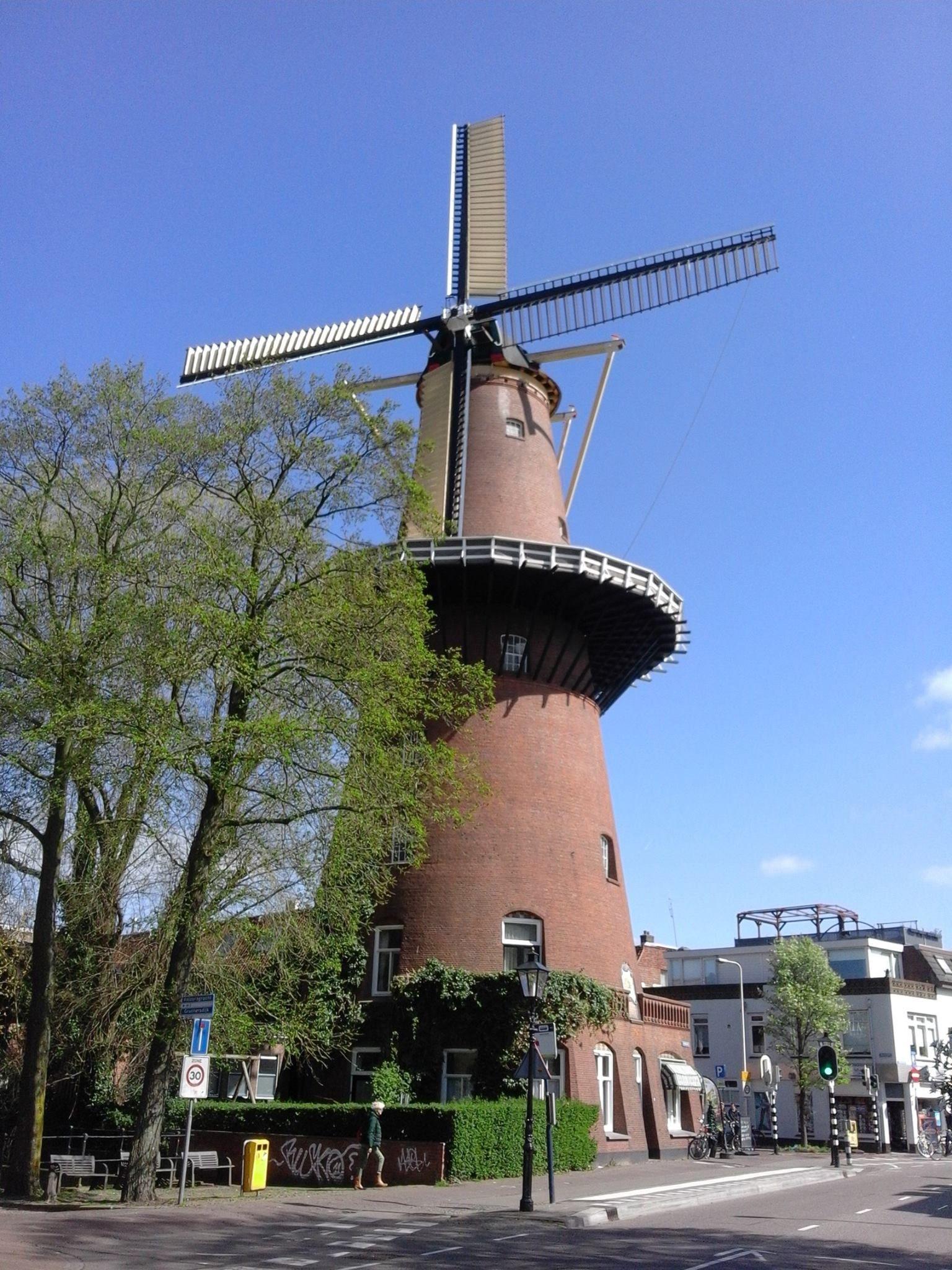 "De Molen ""Rijn en Zon""(rob-foto)."