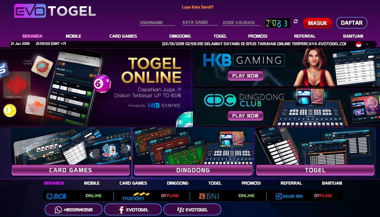 Togel Online Poker Online Togel Singapore Togel Hongkong Situs