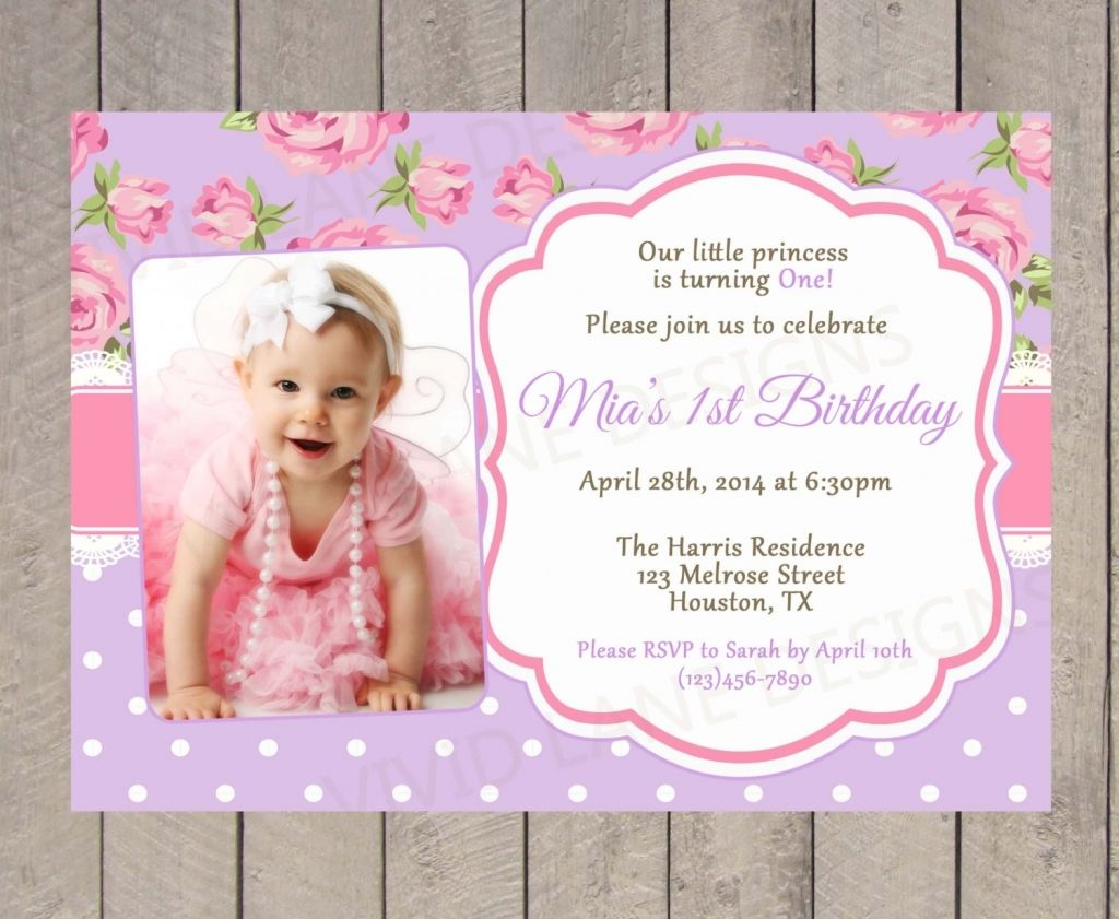 Invitation For Christening And St Birthday Images Invitation Christening St Photo Birthday Invitations Princess Birthday Invitations First Birthday Invitations