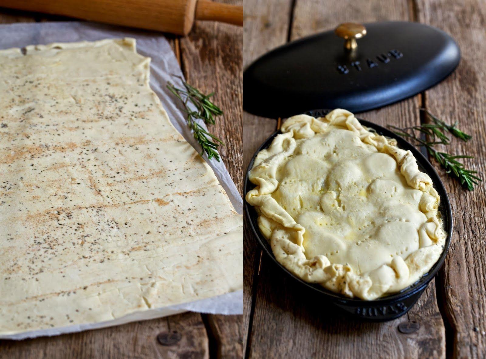 Gestürzter Kartoffelkuchen oder Tarte Tatin, dreimal verkehrt