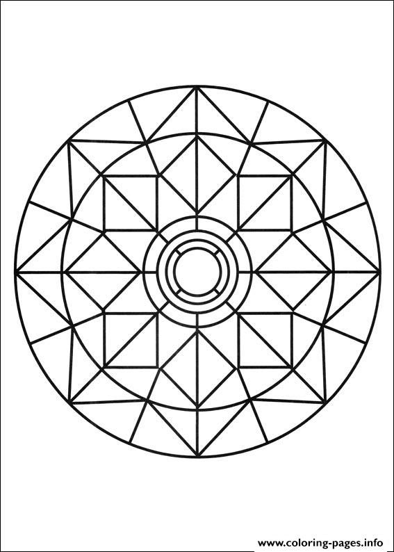 Print simple free mandalas 03 coloring pages   DYEING TO TRY ...