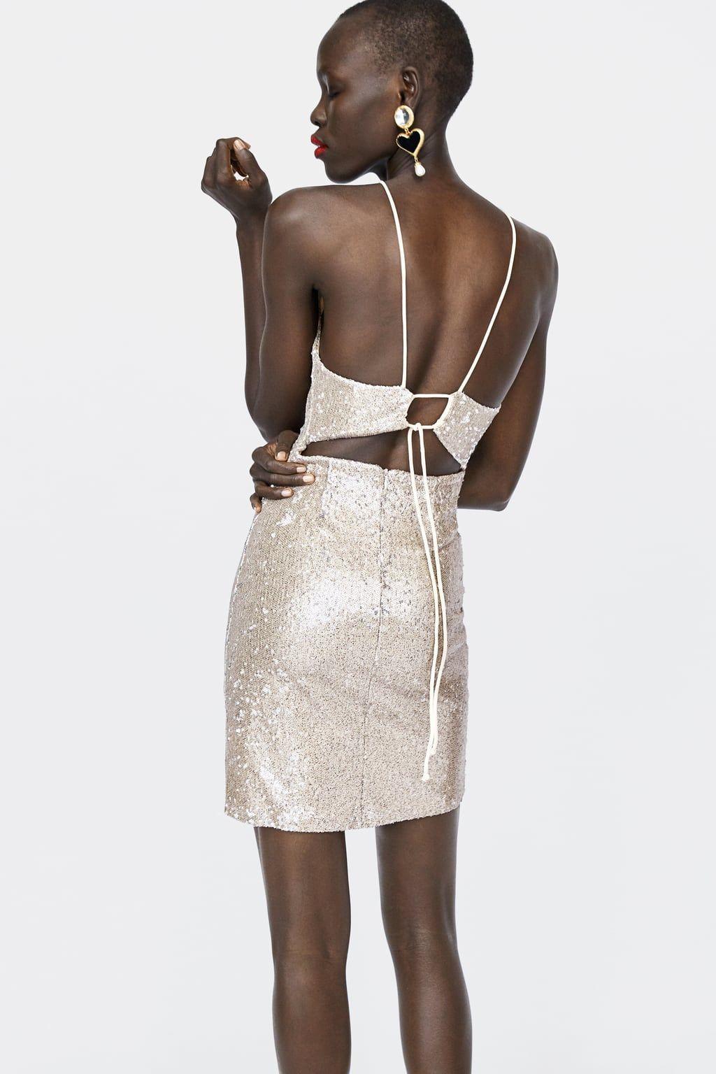 imagen 6 de vestido lentejuelas de zara | party kleider