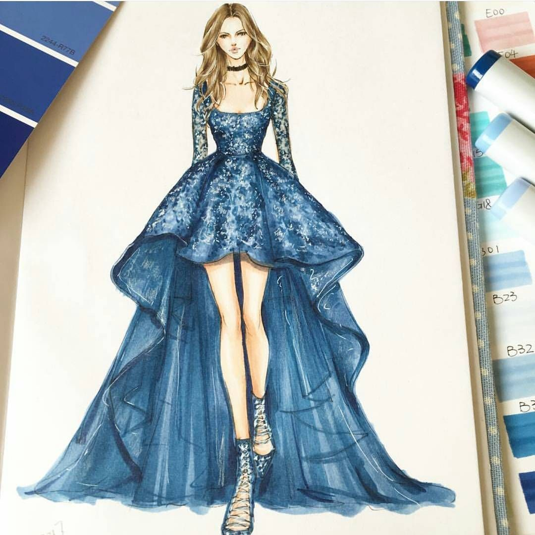 How do you sketch fashion designs 97