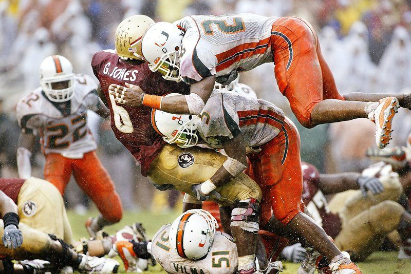 The Glory Days Of Miami Football Si S Best Photos Miami