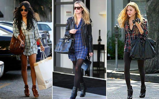 Fashion Jacket | Blog sobre tendências, moda, beleza, séries, viagens e tudo mais: [Dica] 5 jeitos de usar camisa xadrez