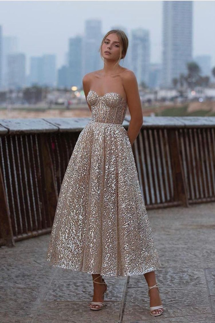 #BERTA evening dream dress