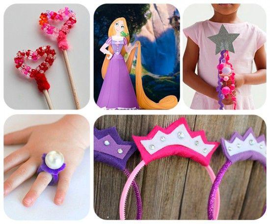 5 Manualidades Infantiles Para Princesas Ideas Fiesta Pinterest