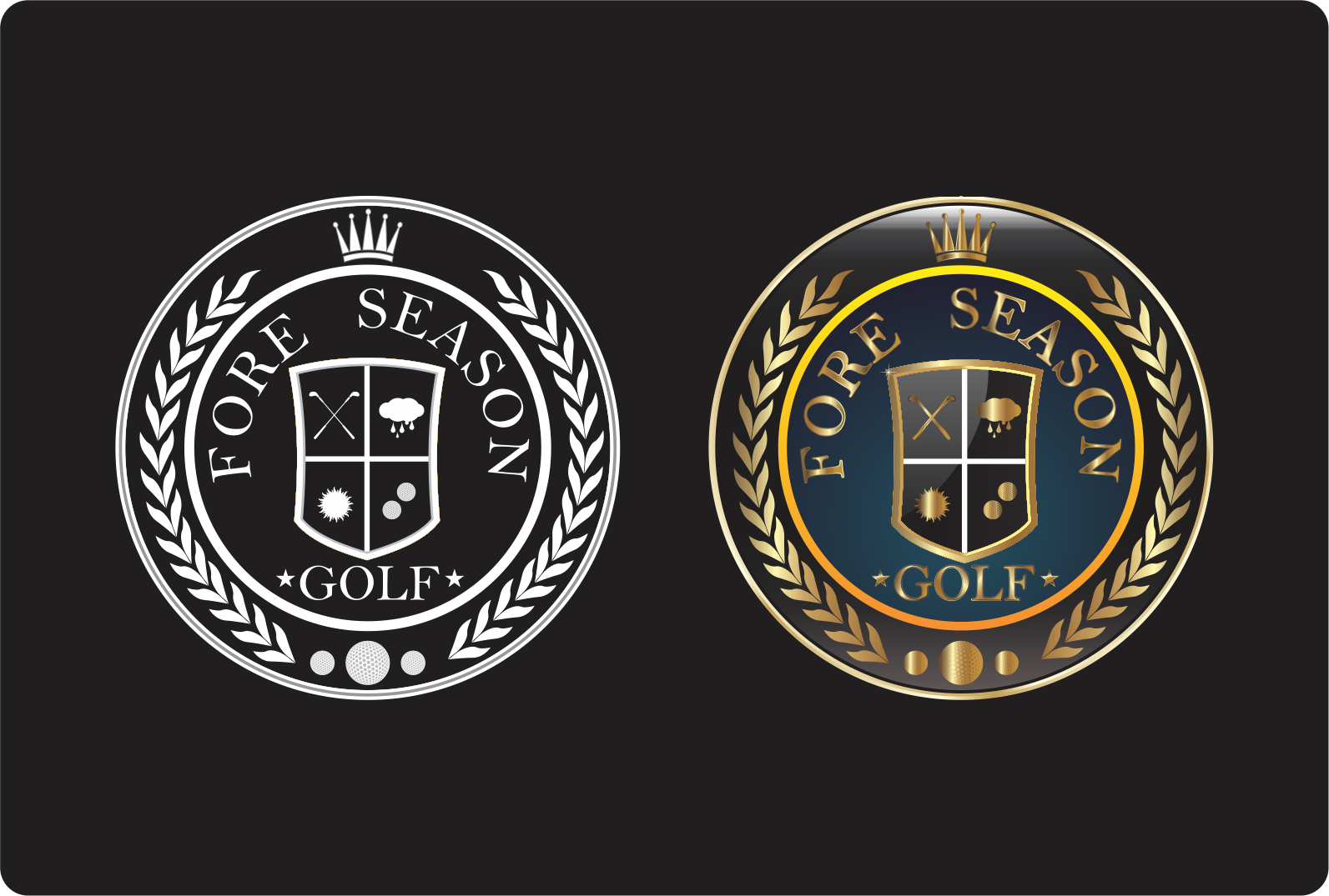 Fore Seasons Golf Logo