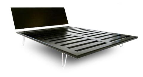 Bedroom Furniture Modern Platform Bed Compare To The George