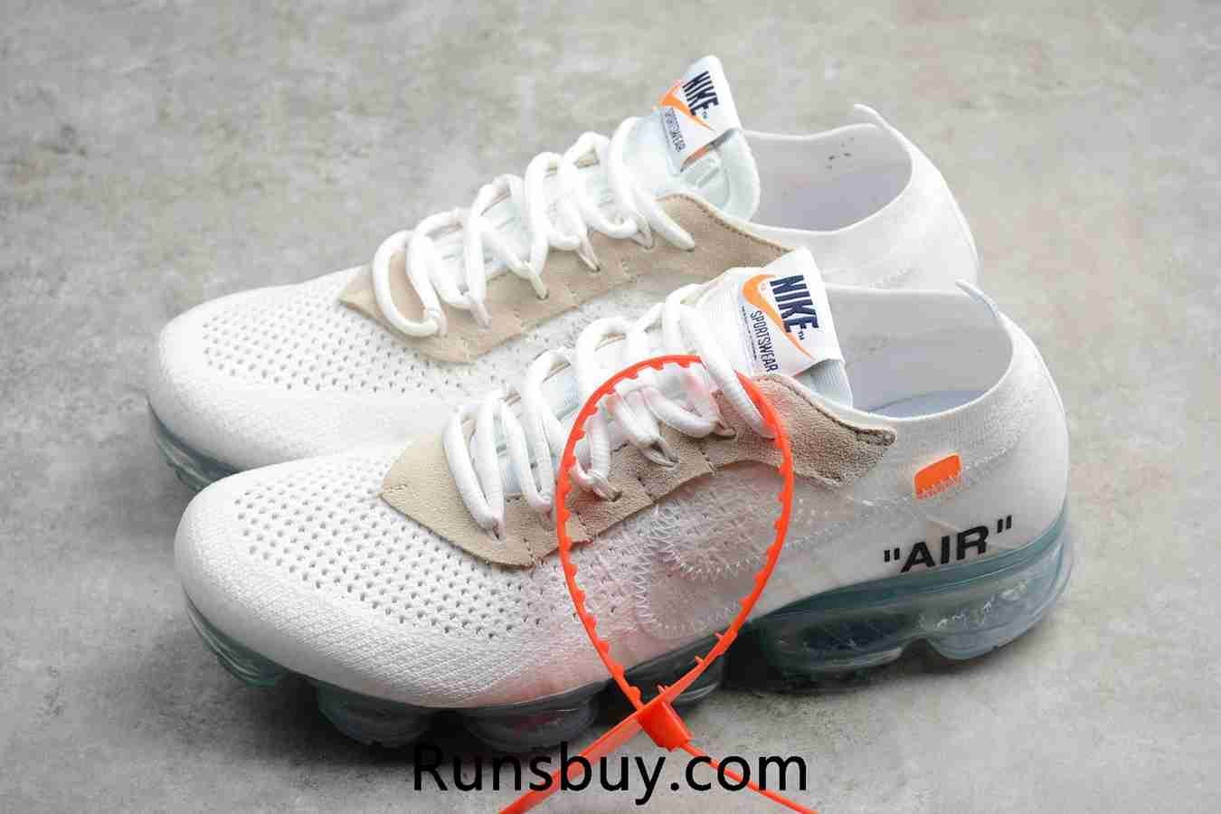 online store 6fcae fe85b OFF WHITE x Nike Air VaporMax Flyknit 2018 OW White Women ...