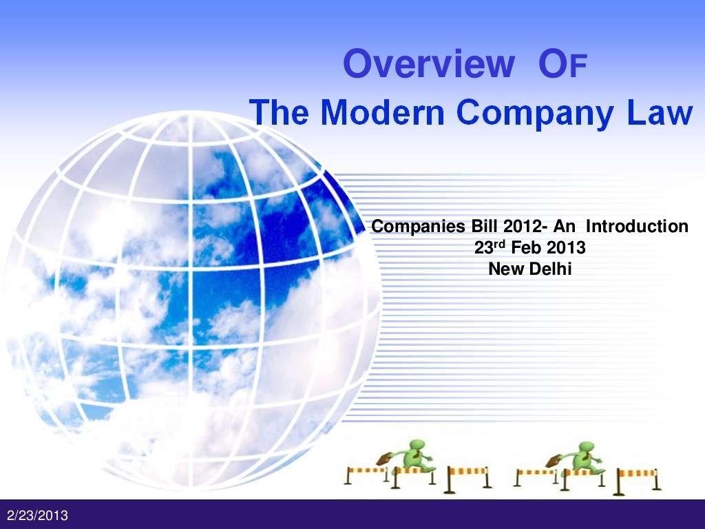 Download presentation on Companies Bill 2012