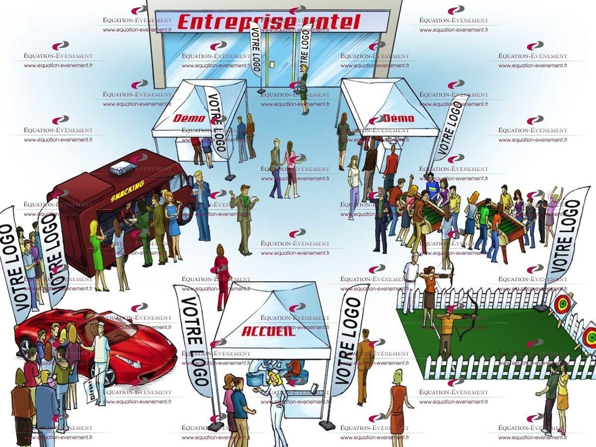 Un événement d\u0027inauguration permet de présenter une innovation majeur dans  l\u0027entreprise, en profiter pour communiquer est un investissement très  profitable\u2026