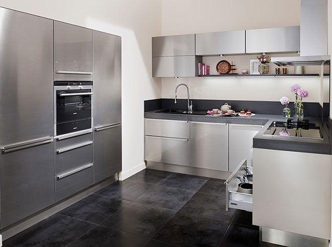 Cuisine Lapeyre Nos Modeles De Cuisine Preferes Elle Decoration Cuisine Lapeyre Cuisine Moderne Et Cuisine Moderne Blanche