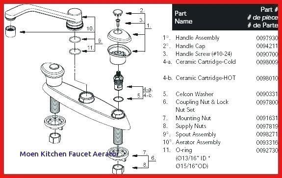 faucet stopper parts kohler sink parts