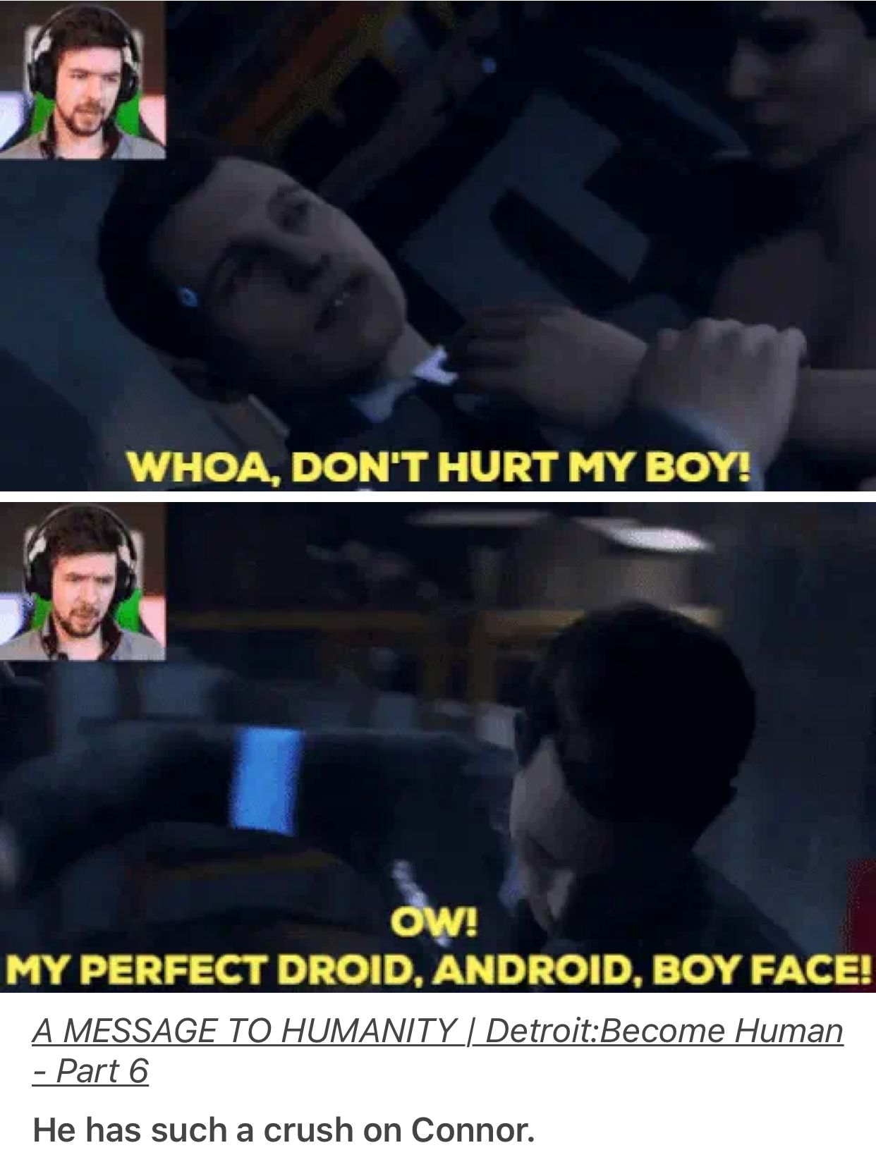 Even Connor Knows Detroit Become Human Know Your Meme