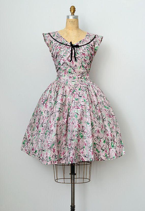 Simple Vintage Dress